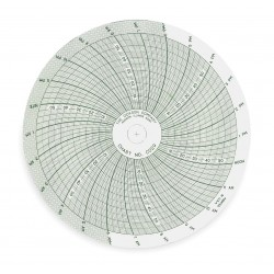 Dickson - C029 - Chart, 4 In, 0 to 60, 24 Hour, PK60