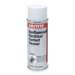 Loctite / Henkel - 1174633 - 12 oz. Aerosol Can Electrical Contact Cleaner with Less Than 30 Sec Dry Time, Clear