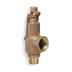 Aquatrol - 88B2-125 - Bronze Safety Relief Valve, MNPT Inlet Type, FNPT Outlet Type