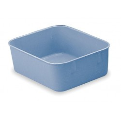 Lewisbins - NO65-2 BLUE - Nesting Container, Blue, 2H x 6-3/8L x 4-7/8W, 1EA