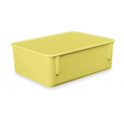 Lewisbins - NO96-4 YELLOW - Nesting Container, Yellow, 4-1/2H x 9-7/8L x 6-1/4W, 1EA