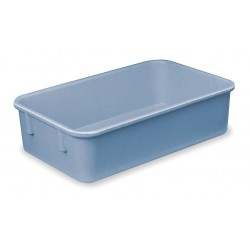 Lewisbins - NO118-4 BLUE - Nesting Container, Blue, 4H x 11-7/8L x 8-3/4W, 1EA