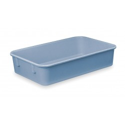 Lewisbins - NO129-2 BLUE - Nesting Container, Blue, 2H x 12-3/8L x 9-3/4W, 1EA