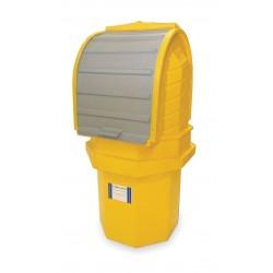 Ultratech - 9641 - UltraTech 36 X 36 X 66 Ultra-Hard Top P1 Plus Spill Pallets Yellow Polyethylene Spill Pallet, ( Each )