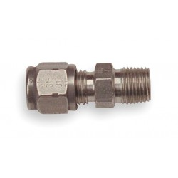 Tempco - FTG-156-105 - Compression Fitting, Bronze, Plug or Connector Type: 1/8 MNPT