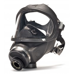 MSA - 457126 - MSA Medium Ultravue Series Full Face Air Purifying Respirator, ( Package )