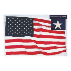 Annin - 1672 - US Flag, 12x18 Ft, Polyester