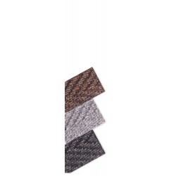Notrax - 118S0035CH - Charcoal Needle-Punched Yarn, Entrance Mat, 3 ft. Width, 5 ft. Length