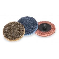 ARC Abrasives - 59343 - 2 Quick Change Disc, Aluminum Oxide, TR, Very Fine, Non-Woven, ZK, EA1