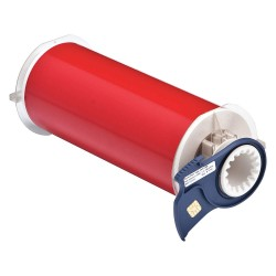 Brady - 13553 - Brady 8' X 50' Red 0.004' B-595 Vinyl PowerMark Indoor/Outdoor Tape For Use With BBP85 and PowerMark Sign and Label Printer, ( Each )