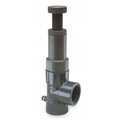 Hayward Industries - RV2200T - CPVC Adjustable Relief Valve, FNPT Inlet Type, FNPT Outlet Type