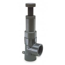 Hayward Industries - RV2200TE - CPVC Adjustable Relief Valve, FNPT Inlet Type, FNPT Outlet Type