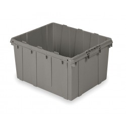 Buckhorn / Myers Industries - DL2420120201001 - Nesting Tote, Gray, 12-3/8H x 24L x 20W, 1EA