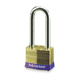 "Master Lock - 6LJ - Keyed Padlock, Different, 2""W"