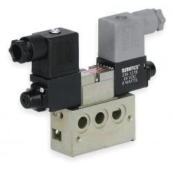 Numatics - 031SS4002060T30 - 1/8 120VAC 4-Way, 2-Position Solenoid Air Control Valve