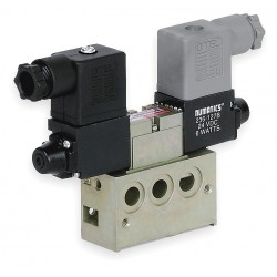 Numatics - 031SS6004060T61 - 1/8 24VDC 4-Way, 3-Position Solenoid Air Control Valve