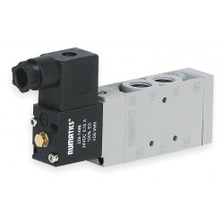 Numatics - L23BA452O060T40 - 3/8 240VAC 4-Way, 2-Position Solenoid Air Control Valve