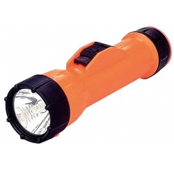 Bright Star - 2217 - Industrial Incandescent Handheld Flashlight, Plastic, Orange