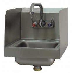 Advance Tabco - 7-PS-56 - Stainless Steel Hand Sink, With Faucet, Wall Mounting Type, Silver
