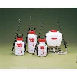 Sola - 454V - Handheld Sprayer, Polyethylene Tank Material, 1-1/2 gal., 45 psi Max Sprayer Pressure