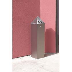 Ex-Cell - TBH01 - Silver Cigarette Receptacle