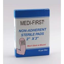 Medique - 64212 - Non-Adherent Pad, Sterile, No, PK10