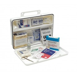 Medique - 807P50P - First Aid Kit, Kit, Plastic Case Material, General Purpose, 50 People Served Per Kit