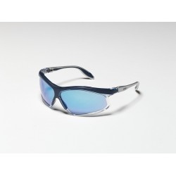 Honeywell - S2141 - Pivot Black/silver Framesafety Glasses Gray Len
