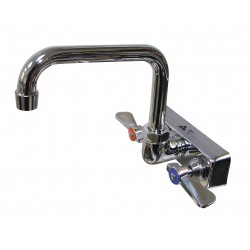 Advance Tabco - K-123 - Chrome Kitchen Faucet, Manual Faucet Operation, Number of Handles: 2