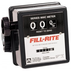 Fill-Rite - 807CMK - 5 to 20 gpm 3-Wheel, Mechanical Mechanical Flowmeter