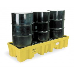 Eagle Mfg - 1630 - Spill Containment Pallets, Uncovered, 78 gal. Spill Capacity, 6000 lb.