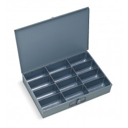 Durham - 115-95-D568 - Compartment Box, 12 Drawer Depth, 18 Drawer Width, Compartments per Drawer 12