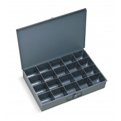 Durham - 111-95-D569 - Compartment Box, 12 Drawer Depth, 18 Drawer Width, Compartments per Drawer 20
