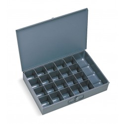 Durham - 109-95-D570 - Compartment Box, 12 Drawer Depth, 18 Drawer Width, Compartments per Drawer 21