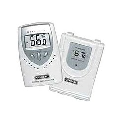 General Tools - EMR813 - Wireless Thermometer W/remote Sensor