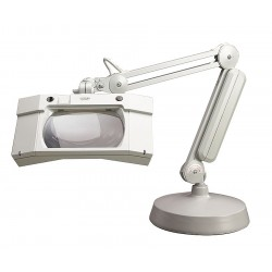Luxo - 17847lg - Magnifier Wave+w/base 30ingray Magnifier Wave+w/base 30ingray (each)