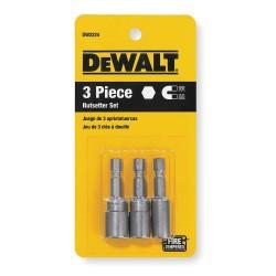 "Dewalt - DW2224 - Dewalt 3 pc Nutdriver Set (1/4"", 5/16"", 3/8"")"