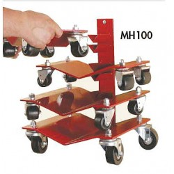 Auto Dolly - M998071 - Set of 4, Wall Mount, 150 lb.