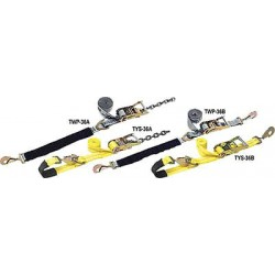 B/A Products - 38-TYS36B - Tie-Down Strap, Ratchet, 10ft x 2In, 3300lb