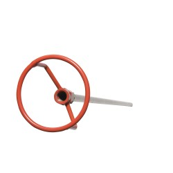 Reotemp Instrument - FM72-16 - Probe Guard, 6 ft. Stem, For 1/2 In. Probe