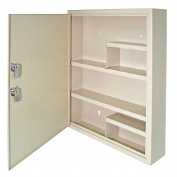 MMF Industries - 201-9065D-03 - Empty First Aid Cabinet, Sand, Steel