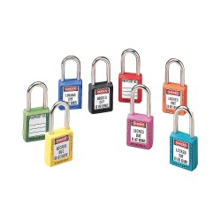 Master Lock - 0411-5701 - Write On Padlock Label, 1-3/4 In. H, PK28