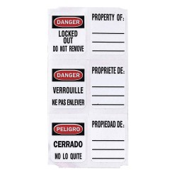 Master Lock - 0410-5701 - Label Sheet For 410 Locks 49 Lables P