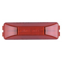 Maxxima / Panor - 3LXF5 - Clearance Light, LED, Red, Rect, 3-3/16 L