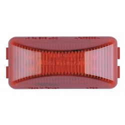 Maxxima / Panor - 3LXF9 - Clearance Light, LED, Red, Surf, Rect, 2-1/2L