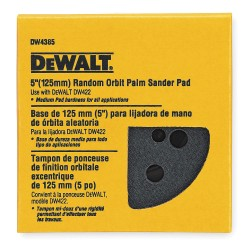 Dewalt - DW4395 - Hook-and-Loop Dsc BU Pad, 6 Hole, 6D