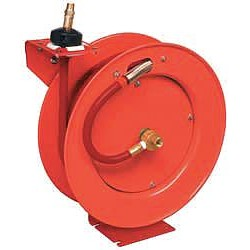 Lincoln Industrial - 83753 - 3/8, 50 ft. Spring Return Hose Reel, 300 psi Max. Pressure