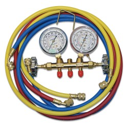 Bacharach - 2002-5000 - Mechanical Manifold Gauge Set, 2-Valve