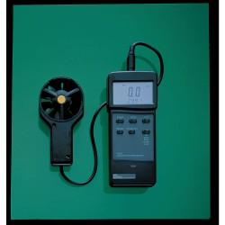 Sper Scientific - 840032 - Digital Anemometer Thermometer 32-140 Degrees F 3.0 In Wx7.0 In Lx1.25 In D 80-4925 Feet Per Minute 13.5 Oz Sper Scientific, EA