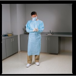 Other - 3MUC8 - Lightweight Disposable Gown, Elastic, PK15